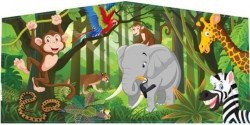 Jungle Animals Theme Banner