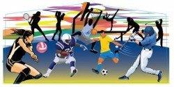 Sports Theme Banner